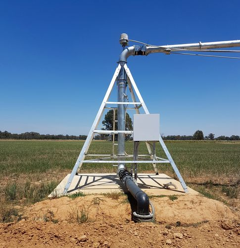irrigation pivot point 32