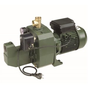 DAB-151MP – PUMP SURFACE MOUNTED CAST IRON WITH PRESSURE SWITCH 75L/MIN 61M 1.1KW 240V