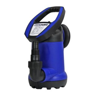 BIA-JH400S2 PUMP SUBMERSIBLE POLY CLEAN WATER 117L/M 7.5M 0.55KW 240V